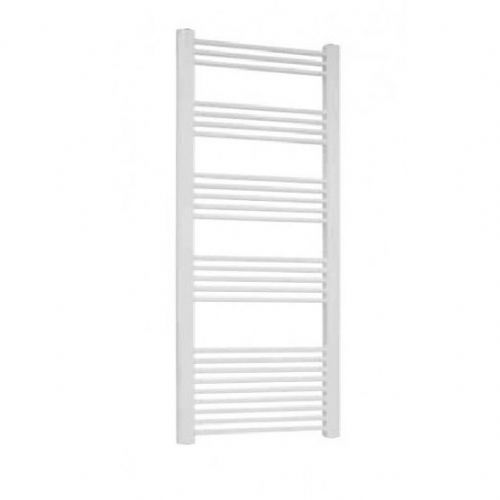 Eastbrook Biava Multirail Curved Towel Rail - 1118mm x 450mm - White